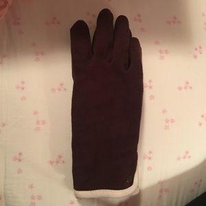 GAP brown gloves